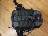 Camera bag. Nikon. Canon. DSLR. Lowepro. Photography.