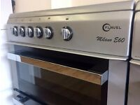 FLAVEL Milano E60, Silver, 60cm, Fan Assis ELECTRIC COOKER + 3 Month Guarantee + FREE LOCAL DELIVERY