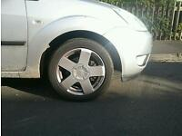 Ford fiesta alloy wheels x4 with tyres