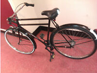 FULLY SERVICED Men Women PON DUTCH Road Town City Bicycle 3 Gears, Stand, Back, Pedal Brake