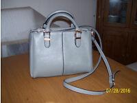 Smart Silver Grey Handbag