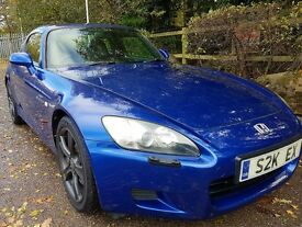 Honda S2000 GT 2.0L VTEC Convertible, Original Hardtop, Cover and Stand + Private Plate