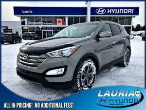 2016 Hyundai Santa Fe Sport 2.4L AWD Luxury - Leather / Panorami