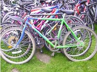 ADULT BIKES-SPARES/REPAIRS/EXPORT-£10 EACH!!!