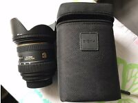 Sigma 24-70mm 2.8 DG HSM lens for Nikon