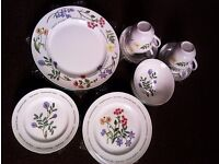 ORIGINAL LTD EDITION BRAND NEW DINNING SET- PLATES, BOWLS, TEA & COFFEE CUPS & SAUCERS