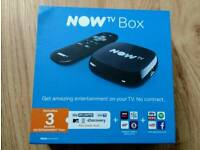 Now Tv Box with 3 months Entertainment Pass - New