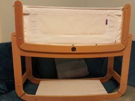 SnuzPod 2 bedside crib