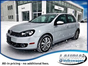 2012 Volkswagen Golf 2.0 TDI Auto - Low kms / Sunroof