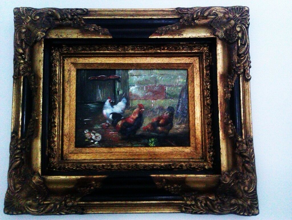 ORIGINAL UNIQUE UNUSUAL REAL OIL PAINTING, PICTURE, PHOTO,