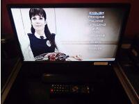 22 inch dvd hd freview combi remote 2x hmdi slim model