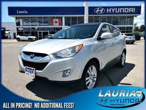 2013 Hyundai Tucson Limited AWD - Leather / Sunroof / Navigation