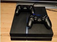 Playstation 4 Console + Games