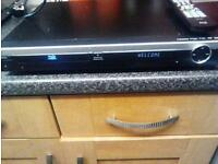 blue ray player and remote