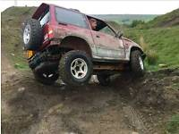 Suzuki Vitara Off Road Fun!