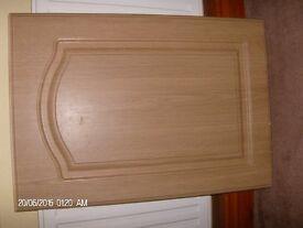 Kitchen Cupboard Doors Oak Veneer (ex B/Q)