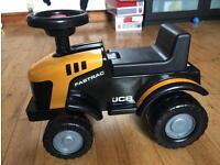 Toddler jcb ride on