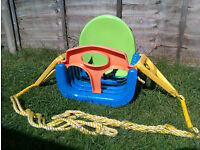 Chad Valley multi-stage swing seat, for age 9 months and over