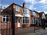 Spare double room in a 7bed house in fallowfield