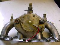 Ford Sierra Carburettor Manifold.