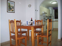 HOLIDAY APARTMENT FUERTEVENTURA CANARY ISLANDS SPAIN.2 BEDROOMS.£225 FOR 4 PERSONS.REDUCTION FOR2/3