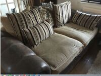 sofa suite, Settee, Lounge Furniture, 3 Seater. FREE delivery in Derby