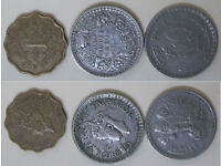 Foreign Coins from around the World. 20p - £3.75 per lot.