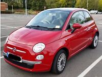 Fiat 500 Lounge 2012, Full Service History, 10500 miles, Like New Condition!!
