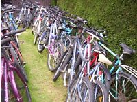 ADULT BIKES NEEDING WORK-IDEAL SPARES-EXPORT-CAR BOOTERS ETC-£10 EACH!!!