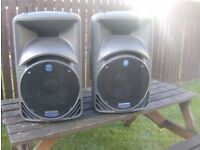 Mackie 450s speakers mk 1 made in italy not the cheap import ones due to up grade now up for sale