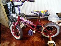 """Girl 12"""" bike"""