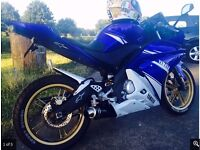 Yamaha YZF 125 lots of extras