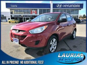 2013 Hyundai Tucson GL FWD Auto - Low kms - 1 owner