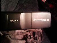 SONY DIGITAL D-BASS 10 CD CHANGER PLUS TWO PIONEER 130WATT SPEAKERS