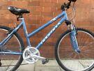 19 inch Ridgeback MX Terrain lightweight Aluminium bicycle Hybrid Open Frame bike MTB bicycle