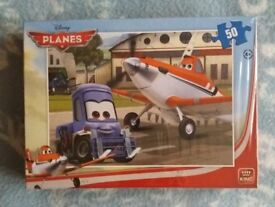 Disney Planes 50 Piece Jigsaw 4 years + NEW