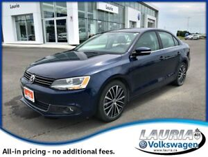 2014 Volkswagen Jetta 2.0 TDI Highline - Low kms - Loaded!