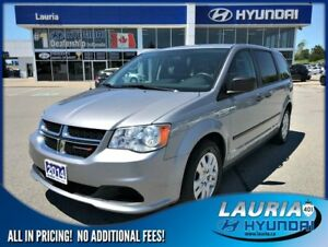 2014 Dodge Grand Caravan CVP - 7 Passenger