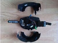 Renault Megane 2 Mk2 Indicator, Radio & Wiper Control Switch Airbag Squib Stalk.