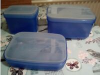 New Tupperware swing box storage container from £ 3.90