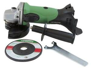 New Hitachi Powertools G18DSLP4 18V Lithium-Ion Grinder