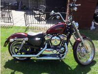 Harley Davidson Sportster 72 XL1200