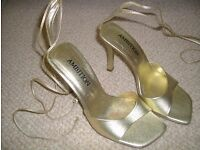 Glam heels ideal for wedding or party!