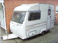Wanted towing caravan for parts