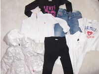 used brand girl clothes age 18-24 months