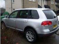 Volkswagen Touareg TDI, 4x4, Auto o4 REG may take part x trike motorbike