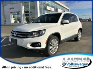 2015 Volkswagen Tiguan Highline 4Motion AWD
