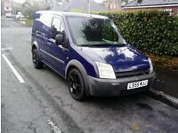 Ford transit connect 1.8 TD 55 plate