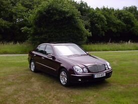 IMMACULATE & STUNNING 2006 (06) MERCEDES E280 V6 FMSH VERY LOW MILEAGE55k