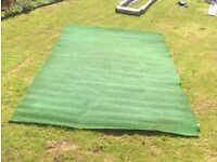 artificial grass nearly 2m x 4m used lawn garden play area